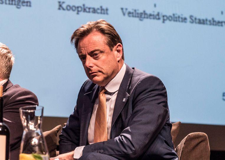 Bart De Wever tijdens het debat.