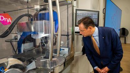 Nieuwe machine houdt meer ruwe diamant in 't stad