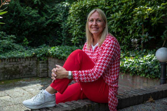 Erica van Dijck won de eerste badmintonwedstrijd ooit op de Olympische Spelen.