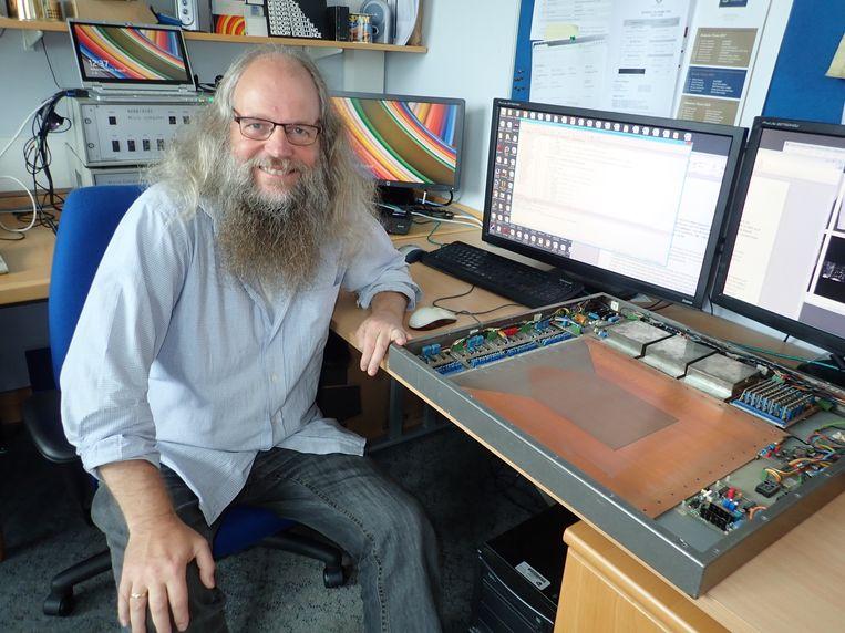 Marcel van Herk Beeld Milly Buwenge van de Universiteit van Manchester