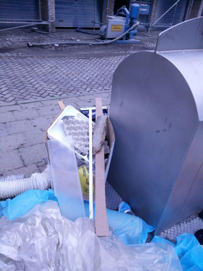 Bewijs 'asbestdumping', volgens bewoners
