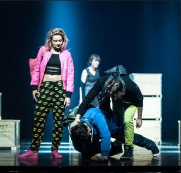 Scene uit de musical Spijt!