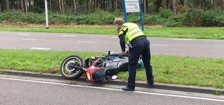 Motorrijder omgekomen bij klap tegen lantaarnpaal in Tilburg