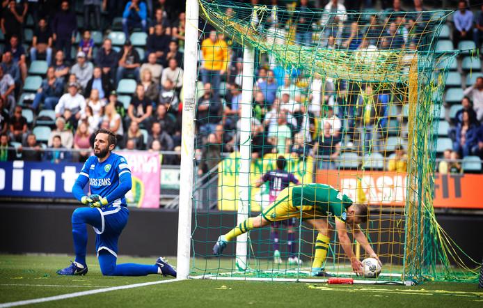 ADO Den Haag was in het seizoen 2017-2018 in het eerste duel ook niet opgewassen tegen FC Utrecht (0-3).