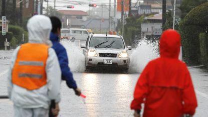 1 miljoen mensen geëvacueerd door hevige regenval in Japan