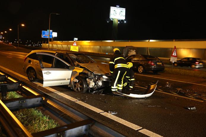 Eerder dit jaar veroorzaakte een spookrijder een ongeluk op de A12.