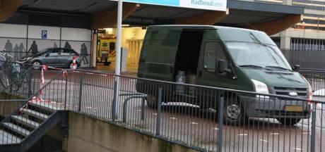 Slachtoffers explosie drugslab met busje vol gasflessen naar Nijmeegs Radboudziekenhuis gebracht