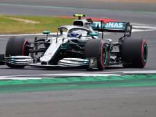 Bottas en pole devant Hamilton à Silverstone