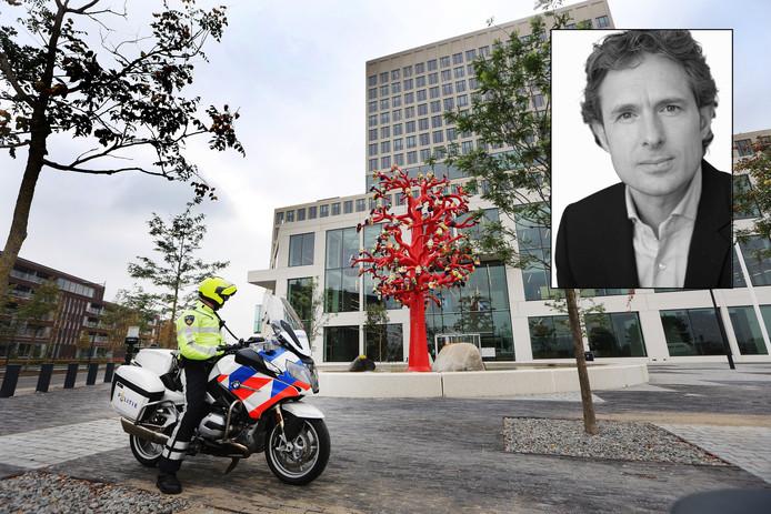 De rechtbank in Breda. Inzet: Derk Wiersum