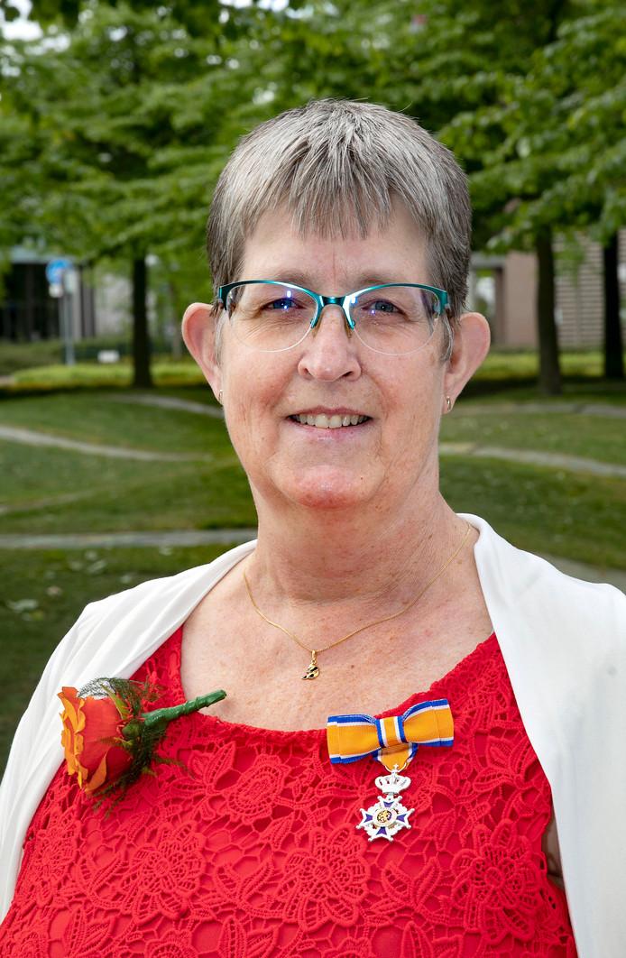 Marja van der Linden - Van der Hulst in Veldhoven.