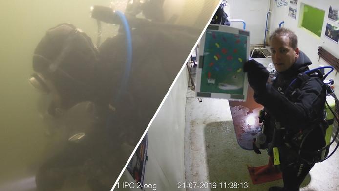 Eerste onderwater bescaperoom in Alverna geopend