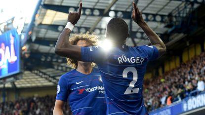 Mourinho baalt als een stekker: United verspeelt zege diep in toegevoegde tijd op Stamford Bridge na treffer Barkley