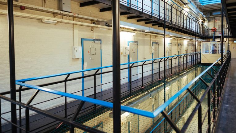 The British School of Amsterdam vestigt zich in de oude gevangenis in de Havenstraat. Beeld Marc Driessen