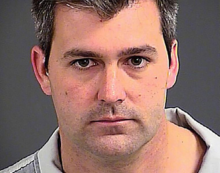 De inmiddels ontslagen agent Michael Slager. Beeld reuters