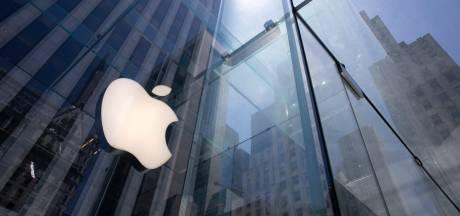Apple vaut 2.000 milliards en Bourse, inédit pour une société américaine