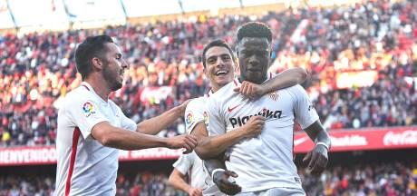 Promes eindelijk weer trefzeker voor winnend Sevilla