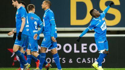 VIDEO. AA Gent neemt de maat van Oostende en springt top zes binnen: Buffalo's krijgen hun finale op Stayen