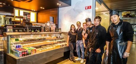 Nu ook sushishop in station van Brugge! Zo zijn voor het eerst sinds lang weer alle winkels ingevuld