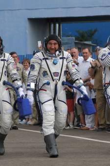 Un Italien, un Russe et un Américain s'envolent pour la Station spatiale internationale