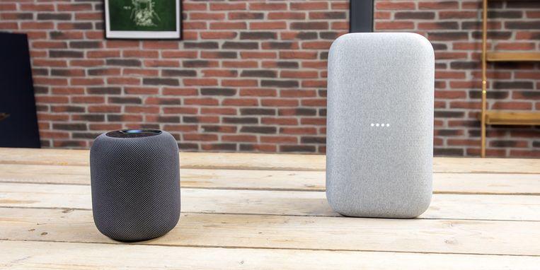 Wie pakt de polepositie bij de slimme speakers: Google of Apple ...