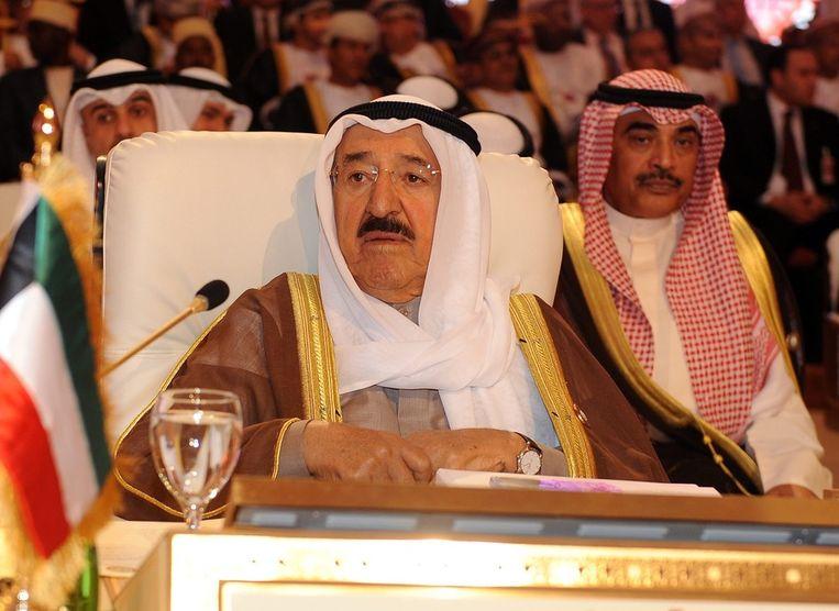 Sheikh Sabah al-Ahmad al-Jaber al-Sabah, emir van Kuweit.