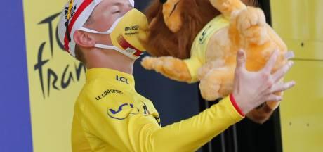 Pogacar in geel naar Parijs: 'Het was eigenlijk al een droom om deel te nemen'