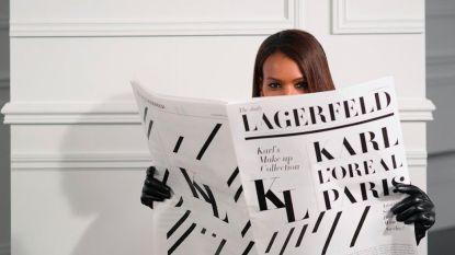 L'Oréal kondigt exclusieve samenwerking aan met Karl Lagerfeld