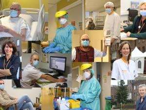 """Onze reporter liep twee weken mee in het regionaal ziekenhuis Tienen: """"Stikkapot voel ik me, maar het personeel... Dat blijft glimlachen"""""""