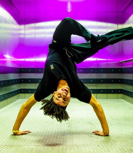 Jean Salazar Tavera (16) - aka Bboy ShinShan - wint Kunstbende Dans