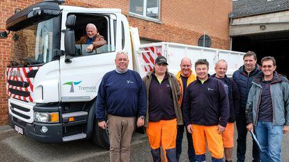 Milieuvriendelijke vrachtwagen voor Technische Dienst