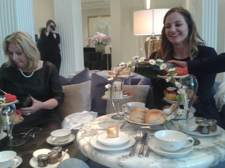 Honey Tea Afternoon in WaldorfAstoria. Beeld