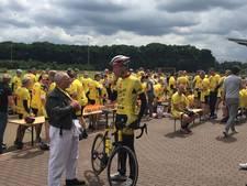 Tukkers naar de Tour: peloton over de helft