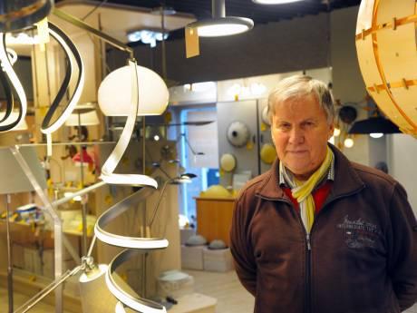 Luc Markies laat het licht in de Vlissingse binnenstad toch nog even aan