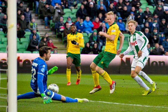 FC Groningen pakte afgelopen weekeinde een punt tegen ADO Den Haag.