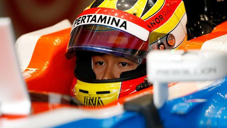 Rio Haryanto, een van de pay drivers in het Formule 1-circuit. Beeld reuters