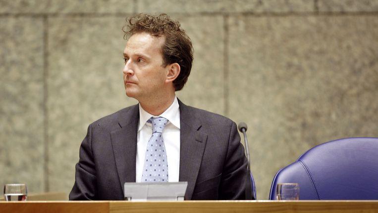 Bij Joop Wijn klonk meer ernst door, toen hij zei: