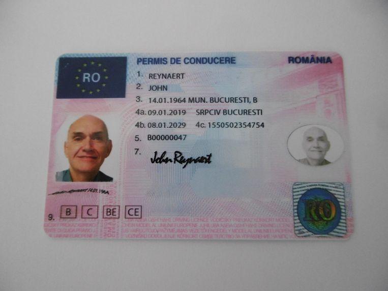 Illustratiebeeld rijbewijs