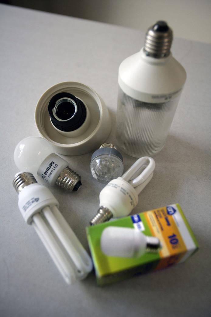 Met de voucher kunnen onder meer spaarlampen worden gekocht.