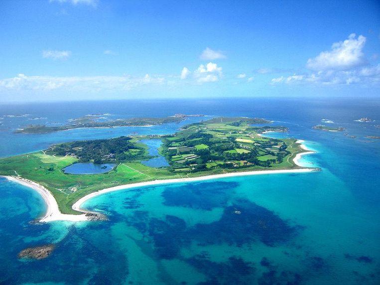 Tresco, een van de Scilly-eilanden ten zuiden van Engeland. Beeld Tom Corser