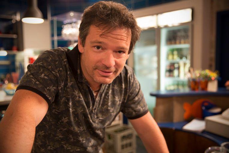 Frank Van Erum is één van de twee comedians van dienst.