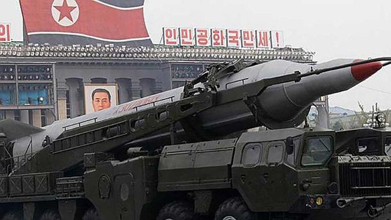 Noord-Koreaanse tank. Beeld ap