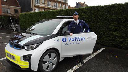 Politie Aalter-Knesselare investeert 210.000 euro in elektrisch wagenpark