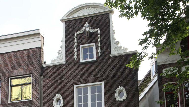 Een van de 14 Van Houtenpanden die aanvankelijk waren geselecteerd maar toch niet op de gemeentelijke monumentenlijst komen. Beeld Walther Schoonenberg