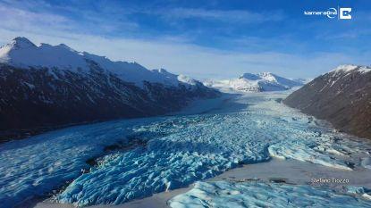 Drone filmt magische beelden van IJsland