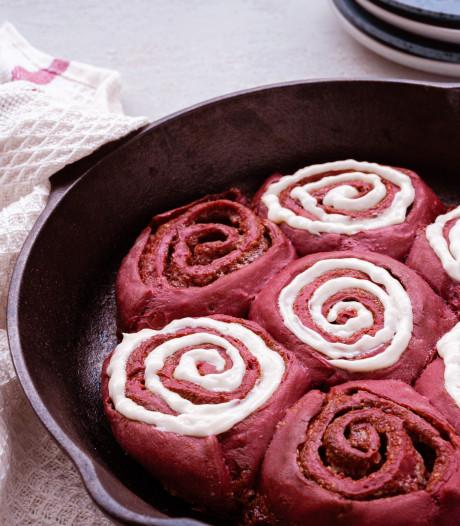Wat Eten We Vandaag: Red velvet cinnamon rolls