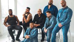 Mannelijke plussize modellen maken Calvin Klein-campagne na als statement
