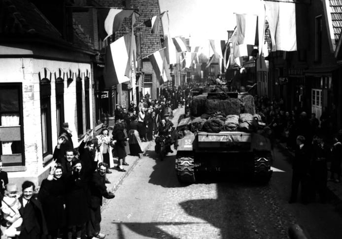 Rijssen en Holten werden in 1945 bevrijd door de Canadezen.