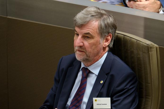 Wilfried Vandaele, président du Parlement flamand (N-VA).