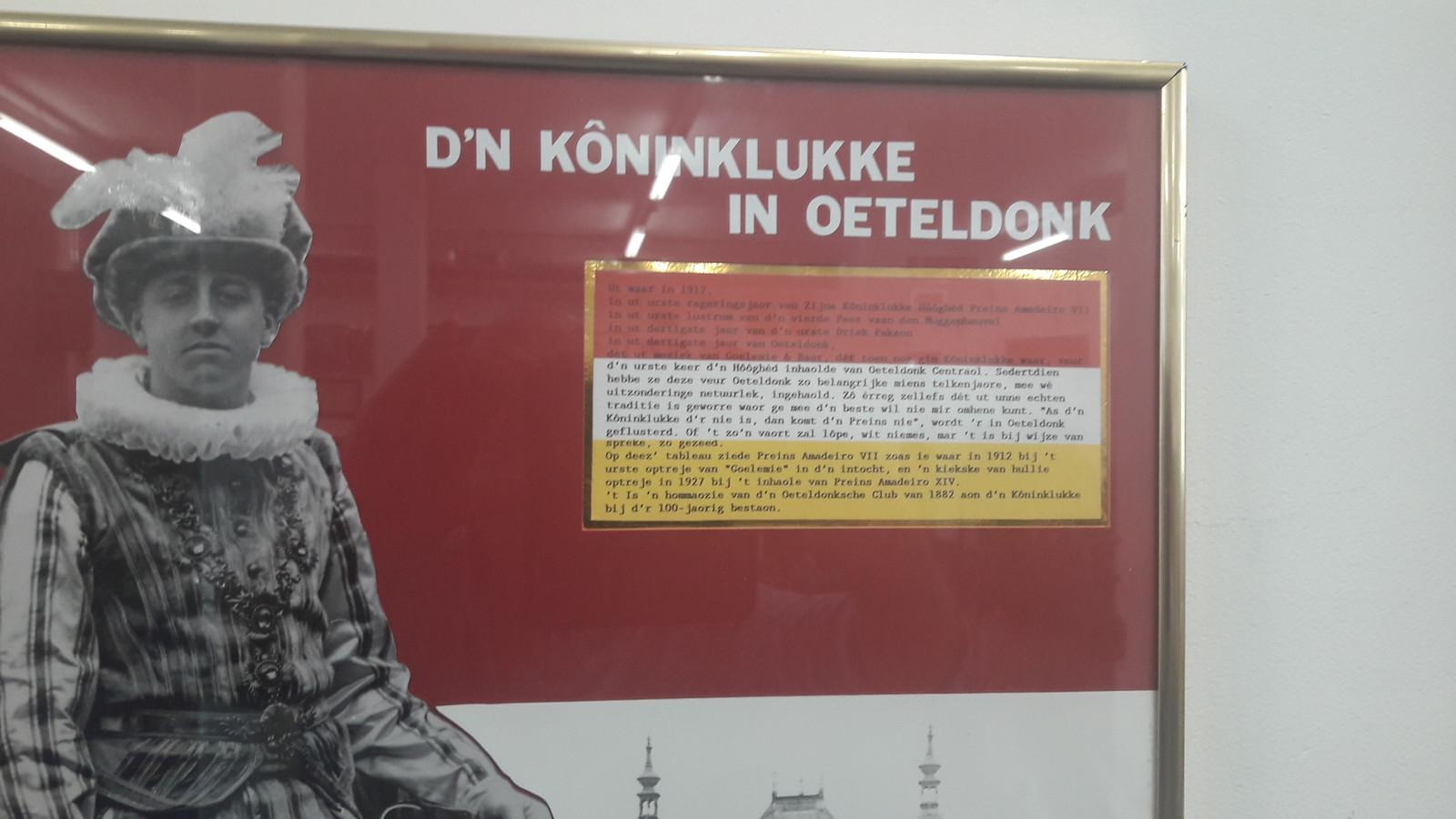 De Koninklijke Harmonie in Den Bosch, onlosmakelijk verbonden met Oeteldonk.