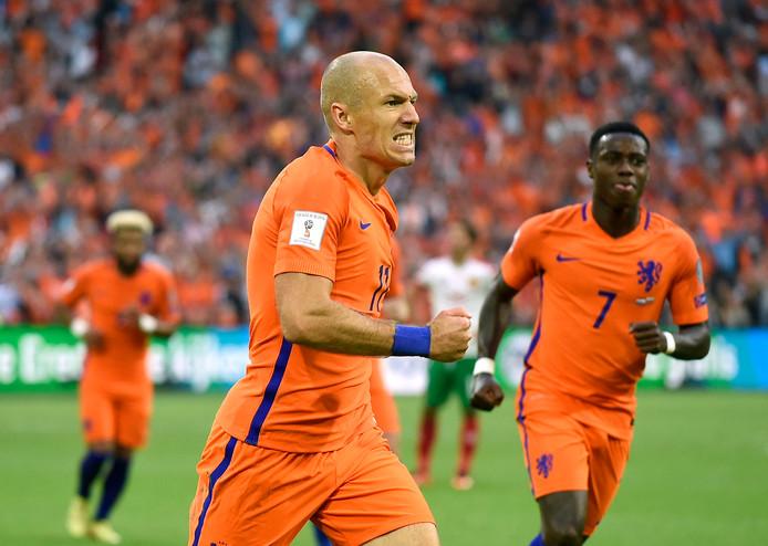Getergde Arjen Robben.